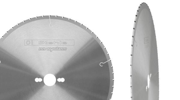 Patent-pending: the super-quiet, diamond tipped saw blade with the best cutting quality in many different materials, all with very long tool life